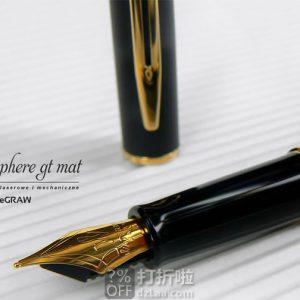 Waterman 威迪文 F尖隽雅钢笔 6.3折$46.23 海淘转运到手约¥319 可满$50-20
