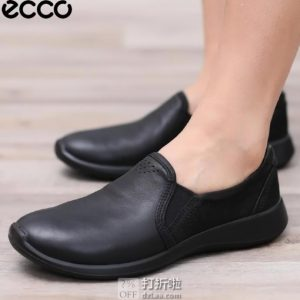 ECCO 爱步 Soft 5 柔酷5号 一脚套女式休闲鞋 37码5折$64.66 海淘转运到手约¥516