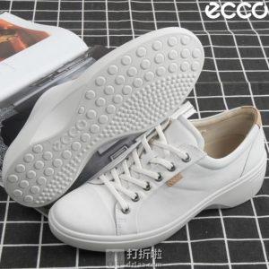 ECCO 爱步 Soft 7 柔酷7号 女式坡跟休闲鞋 4.3折$69.4起 海淘转运到手约¥547