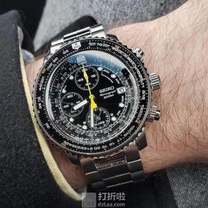 Seiko 精工 Flightmaster 飞行大师系列 SNA411 男式计时手表 6.3折$298 海淘关税补贴到手约¥2071