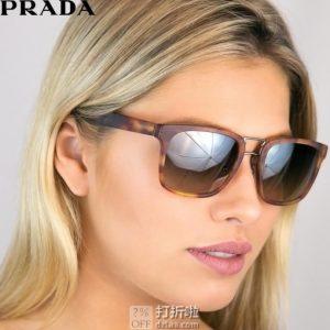 意大利产 Prada 普拉达 PR14TS 女式时尚太阳镜 5.7折$108.18 海淘转运到手约¥711
