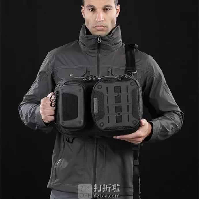 Maxpedition 美国马盖先 AGR系列 Edgepeak V2.0 EDP边峰单肩战术包 15L 6.7折$112.8 海淘转运到手约¥807
