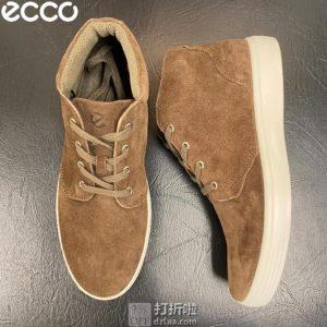 ECCO 爱步 柔酷系列 男式经典短靴 42码4.3折$47.8 海淘转运到手约¥402