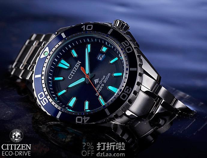 CITIZEN 西铁城 Promaster系列 BN0191-80L 光动能 男式潜水表 镇店之宝¥1225.48