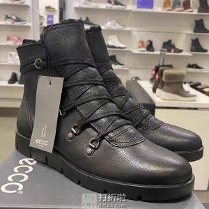 ECCO 爱步 Bella系列 女式高帮保暖短靴 38码5.2折$83.13 海淘转运到手约¥632