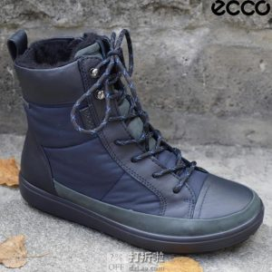 ECCO 爱步 柔酷7号 Tred GTX防水 户外女式高帮短靴 ¥539.65起
