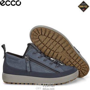 ECCO 爱步 Soft 7 柔酷 Gore-tex防水 女式运动休闲板鞋 36码¥567.83
