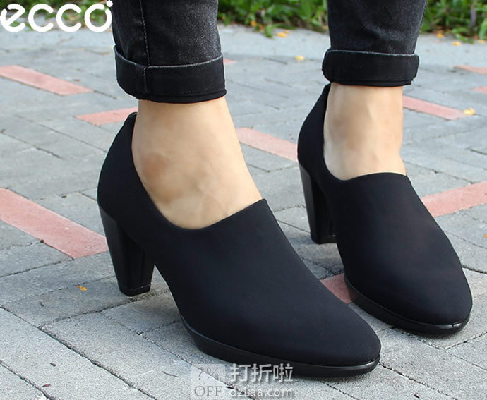 ECCO 爱步 Shape 55 型塑55 女式及踝靴 36码¥410.74