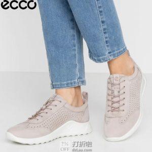 ECCO 爱步 Flexure Runner 随溢起跑系列 打孔版 女式系带运动休闲鞋 36码¥420.43