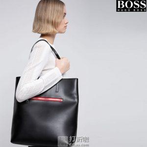 HUGO Hugo Boss 雨果·博斯 Isabel 女式单肩托特包 50435209 镇店之宝优惠码折后¥1067.97