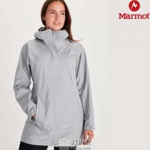 Marmot 土拨鼠 Essential 中长款Gore-Tex® Paclite防水透气 女式冲锋衣 L码优惠码折后¥622.48