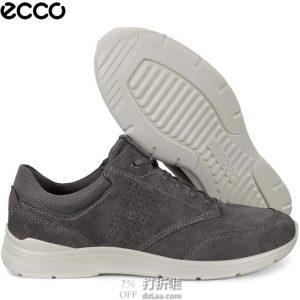 ECCO 爱步 IRVING 欧文系列 系带男式休闲鞋 43码¥419.12