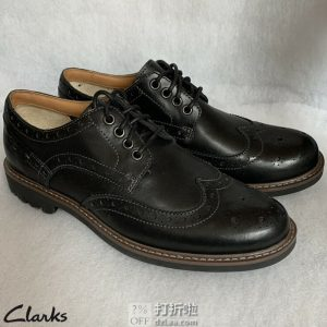 Clarks 其乐 Montacute Wing 男式布洛克鞋 44码¥363.91秒杀