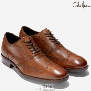 Cole Haan 可汗 Wayne 男式布洛克鞋 牛津鞋 ¥343.33起