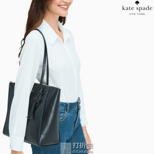 Kate Spade 凯特丝蓓 Kali 大号真皮手提包托特包 WKR00144 3.6折$119.99 海淘转运到手约¥875