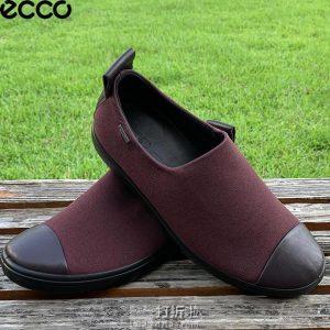 ECCO 爱步 soft 7 柔酷7号 Gore-tex防水 女式坡跟乐福鞋 ¥360.04起