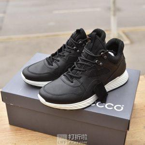 ECCO 爱步 ST.1 适动系列 牦牛皮 男式运动跑步鞋 44码¥598.09
