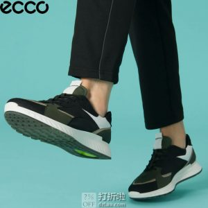 ECCO 爱步 ST.1 适动 男式系带休闲运动鞋 43码¥533.69